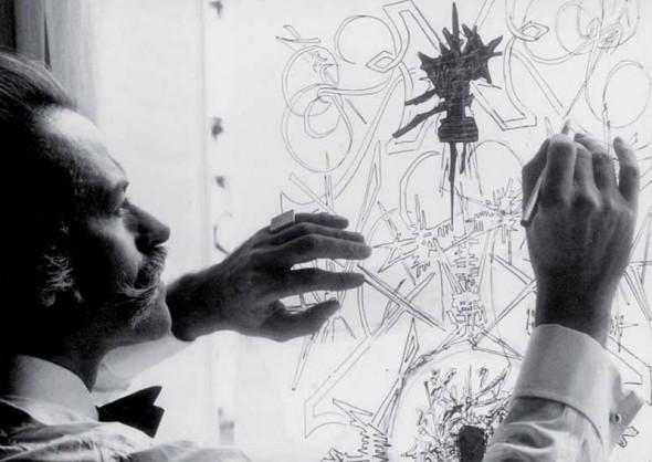 Georges Mathieu | Dellupi Arte