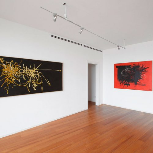 Installation view 03 - Georges Mathieu