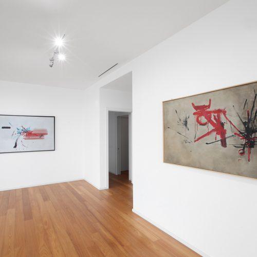 Installation view 02 - Georges Mathieu
