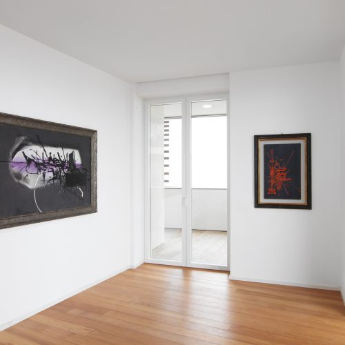 Installation view - Georges Mathieu