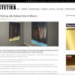 HESTETIKA | Hans Hartung alla Dellupi Arte di Milano