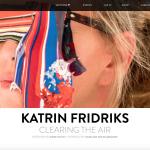 Juxtapoz | Katrin Fridriks: Clearing the Air