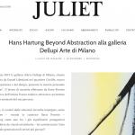 Juliet Art Magazine – Hans Hartung, Beyond Abstraction
