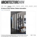 Architecture Now – Swiss renovation features Katrin Fridriks' Riding Awareness
