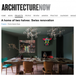 Architecture Now – Swiss renovation features Katrin Fridriks' Riding Awareness