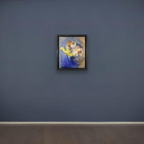 Paul Jenkins, Lamp Orchid, 1959, acrilico su tela, 73x60 cm